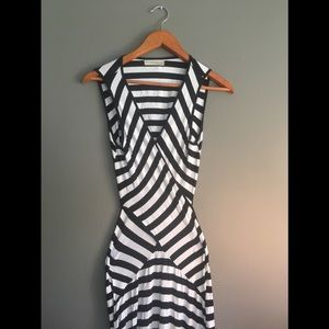 ❤️2 for $40❤️Criss Cross YoungThreads Striped Maxi